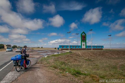 Droga w kierunku Kirgistanu