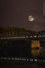 Superluna | Ponte Ferroviario sul Po | Piacenza 15 Novembre 2016 (GAZ BLANCO photographer) Tags: advanced basic depth field find halloween meteors milky way moon night photography planner silhouettes sun supermoon luna superluna bridge ponte po river reflection nd longexposure engineering blanket supermoon2016 sk8 longboard longskateboard loadedboards orangatangwheels paristruckco bhangra style ロンスケ 職人気質 moonpendant crescentmoon moonphase claypendant crystalpendant necklaces earrings crystalmoon faerie fairy moonstone lemurian chakra magic mystical magical lightworker spiritquartz