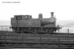 20/06/1963 - Ryde Pier, Isle of Wight. (53A Models) Tags: britishrailways adams lswr southernrailway o2 044t w18 ningwood steam passenger rydepier isleofwight train railway locomotive railroad