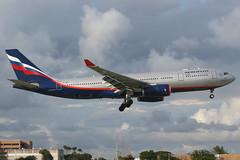 VP-BLX MIA 21-11-2013 (Plane Buddy) Tags: vpblx airbus a330 330200 aeroflot miami kmia
