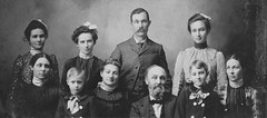 John Wesley Houser family