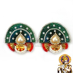 Mukut, Deity Crown, Goddess Shringar, God Mukuts Vedic Vaani (vedicvaani) Tags: ornaments goddess deity shringar online purchase jewellery god mukut crown