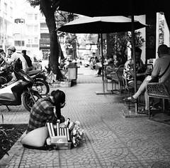 I'm bored (mteckes) Tags: hasselblad 500c bw kodak kodaktrix trix ziessplanar80mm28 zeiss saigon hochiminhcity vietnam film blackandwhite monochrome