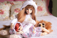 Crnica 30 (2/2) (Osmundo Gois) Tags: bjd yosd msd doll girl boy toy dolllove magic time lion urso bear princess