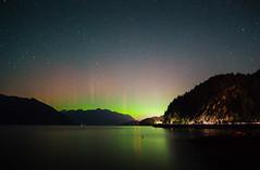 Aurora Borealis (MLPixels) Tags: auroraborealis aurora northernlights astrophotography north porteaucove nightscape ocean cove lightstreaks stars bigdipper constellations