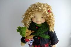"""LUCY  20"""" doll (Dearlittledoll) Tags: waldorf waldorfdoll steinerdoll waldorfinspired naturalfiberdoll"""