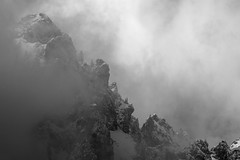 """(Isat"""") Tags: alps alpes chablais montagne mountain moutains nature neige nuage noiretblanc landscape"""