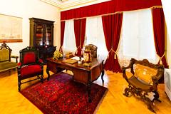 Office (Raoul Pop) Tags: objects office desk bookcase interior window parquet drapes iasi moldova romania ro