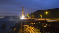 Nightfall (G_a_r_y_____) Tags: sanfrancisco goldengatebridge twilight landscape longexposure nature nightphotography canon6d california cityscapes pacificocean