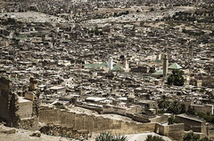 Fez - Marruecos (Sebastin Izquierdo) Tags: marruecos medina fez laberinto panoramica city callejones