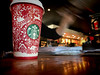 love & joy (MacroMarcie) Tags: starbucks coffee cafe red cup holiday holiday2016 macromarcie 365 project365 taxes paperwork iphone7 iphone7plus bokeh