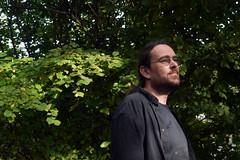 Un beau tnbreux  B. A., Montry, Seine-et-Marne, 16 octobre 2016 (Stphane Bily) Tags: stphanebily montry seineetmarne ba portrait friend ami homme man beard barbe
