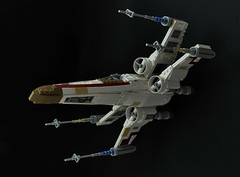 T-65 X-wing: Red2 (2) (Inthert) Tags: lego t65 fighter sfoils x wing star wars ship moc rebel rogue squadron astromech incom red2 wedge antilles