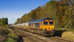 66733 'Cambridge PSB' (mike.online) Tags: class66 gbrf bluebird shed europorte train engineering ukrail britishrailways 66733 ukrailways locomotive heavyhaul mikeonline dual cab autumn blue