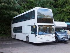 Littles PG04WHA Buxton (Guy Arab UF) Tags: littles d5 pg04wha volvo b7tl east lancs myllenium vyking bus buxton sylvan park derbyshire independent buses london united ve9
