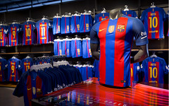FC Botiga, tienda oficial del FC Barcelona. (Baln y Marketing) Tags: fcbarcelona marketing