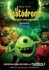 Monsters University: El Fiestódromo (hernánpatriciovegaberardi (1)) Tags: disney pixar el fiestódromo tierna cute britney davis pnk piernas legs rodillas klnees 2014