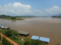 Golden Triangle 3 (SierraSunrise) Tags: rivers mekong mekongriver thailand laos myanmar goldentriangle chiangsaen chiangrai