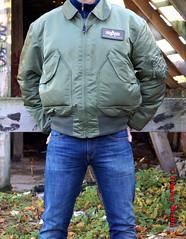 self3104 (Tommy Berlin) Tags: men jeans levis bomberjacke alphajacke
