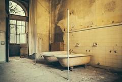 Bath Time (Camera_Shy.) Tags: manicomio di r hospital asylum racconigi italia italian abandonado derelict insane institute abandoned abandonment complex building mental urban exploration ue tresspassing nikon d810