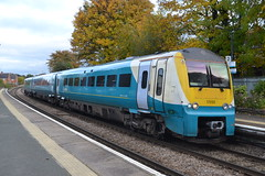 Arriva Trains Wales 175105 (Will Swain) Tags: nantwich 28th october 2016 cheshire north west south county train trains rail railway railways transport travel uk britain vehicle vehicles country england english arriva wales 175105 class 175 atw station