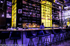Night Cafe! (Raphael de Kadt) Tags: night cafe barman johannesburg gauteng photorealism