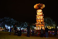 Christmas Pyramid. (The Old Texan) Tags: christmas celebration texas fredericksburg d7100 18300 nikon