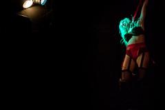 """-The Damn Devillez-  """"A Collection of Horrors"""" (JakeKieffer) Tags: burlesque burlesqueshow thedamndevillez devil devillez dancer dance halloween losangeles la horror scary sexy lingerie strangle choke death thelexington creepy"""