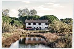 The Old Farmhouse (macplatti) Tags: lagoon grado farm farmhouse bauernhaus traktor trekker lagune schilf vintage friauljulischvenetien italy ita