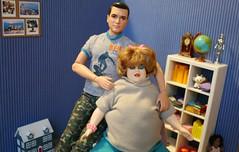 IMG_8164 (irinakopilova) Tags: mimi bobeck doll barbie mattel drew carey baby happy family rock hudson ken