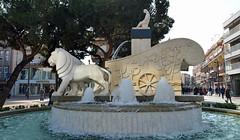 La Cibelina de Getafe (m_motylka) Tags: getafe españa arquitectura city ciudad sculpture cibeles