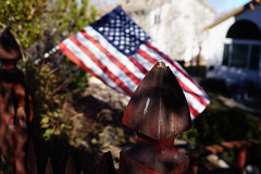 'merica (BPPrice) Tags: coloradosprings flag 2016 fence