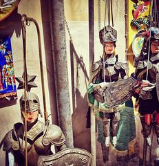Pupi siciliani (niro.fabio) Tags: pupisiciliani pupi marionette sicily italy sicilia puppets nikond5500 souvenir handmade travelphotography
