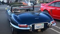 Jaguar XKE Roadster (Pat Durkin OC) Tags: jaguar xke roadster black