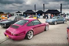 Dreamcars. (Mitchell Hermanides) Tags: porschecup ferdinandporsche porsche 964 911 rotiform bbs rennsport pink vwdays
