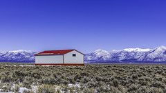 Red Barn In Taos (Mabry Campbell) Tags: 2016 february h5d50c hasselblad mabrycampbell newmexico usa unitedstatesofamerica commercialphotography countryside fineart fineartphotography image landscape photo photograph photographer photography f90 february52016 20160205campbellb0000573 80mm sec 100 hc80