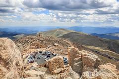 Mount Evans, Colorado (AP Imagery) Tags: mount mountain trail parkinglot landscape rockymountains observatory colorado summit evans mtevans devner
