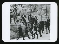 Vietnam Demonstrations Marches, 1967 (Regional History Center & NIU Archives) Tags: boycott demonstration protest niu northernillinoisuniversity student activism