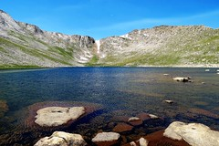 High Country Lake (Patricia Henschen) Tags: summitlake denvermountainparks park lake mountains alpine mtevansscenicbyway mtevans scenicbyway idahosprings colorado