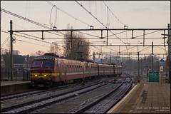 "NMBS/SNCB 808 ""L2557"" - Roosendaal (Mark van der Meer) Tags: roosendaal noordbrabant nederland nl varkensneus ms75 ms75808 am75 am75808 nmbs sncb belgium belgie train trein automotrice emu electricmulitpleunit treinstel"