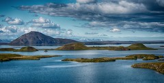 Lake Mvatn (explored) (ramerk_de) Tags: iceland lake mvatn volcanoes