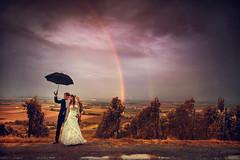 manchmal hat man etwas pech. doch dann wieder glck im unglck. den ganzen tag schlechtes wetter,regen,trber himmelabends dann ist es auf einmal fr 3 minuten aufgebrochen, die sonne kam heraus und ein regenbogen prangte am himmel! :D juhuuuuuu #hochzei (hochzeitsfotograf.stuttgart) Tags: hochzeitsfotograf hochzeitsfotografie hochzeit hochzeitsbilder braut brutigam brautpaar photoshop lightroom fotograf photographer photography wedding weddingphotographer bride groom couple