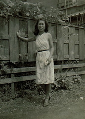 Chinese Woman (~ Lone Wadi Archives ~) Tags: china chinese asia asian lostphoto foundphoto mysterious unknown retro 1950s