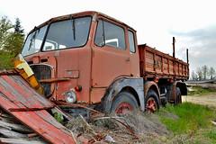 fiat 690 N3 (riccardo nassisi) Tags: auti auto car camion truck rust rusty relitto rottame ruggine ruins scrap scrapyard abbandonata abandoned abbandonato epave wreck wrecked fiat 690 ritmo pavia