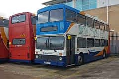 Wise Move At Morecambe (Richie B.) Tags: volvo olympian yn2 northern counties stagecoach cumbria and north lancashire p234vck morecambe white lund depot