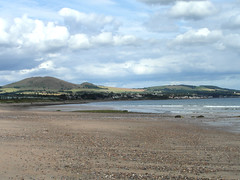 Largo Law from Leven beach (bryanilona) Tags: beach clouds coast scotland fife largo levenbeach largolaw abigfave