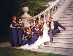 Gareth & Lisa's Wedding 1999 (TempusVolat) Tags: wedding love groom bride couple mr lisa marriage 1999 gareth 90s tempus herts happyday betrothed morodo manorofgroves volat garethw mrmorodo garethwonfor tempusvolat