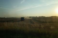 nostalgia (elisachris) Tags: sky nature landscape landwirtschaft natur feld himmel nostalgia landschaft ricohgr uckermark ernte heu sehnsucht