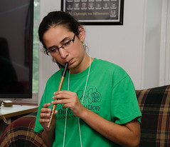 Flute-whistle workshop