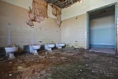 Public Movement (jgurbisz) Tags: abandoned bathroom pennsylvania decay toilet pa poop asylum vacantnewjerseycom jgurbisz embreevillestatehospital